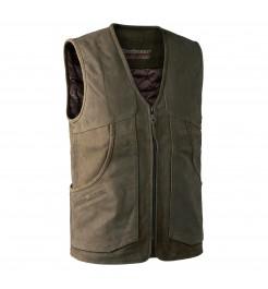 Strasbourg Leather Waistcoat