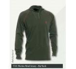 merinno Wool Jersey - zip Neck