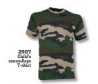 Camo T-Shirt til Børn