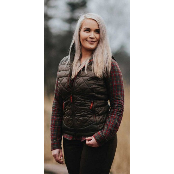 Lady Christine Quilted Waistcoat 4967