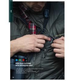 Heat Jacket med powerbank-5000 mah/3,7v.